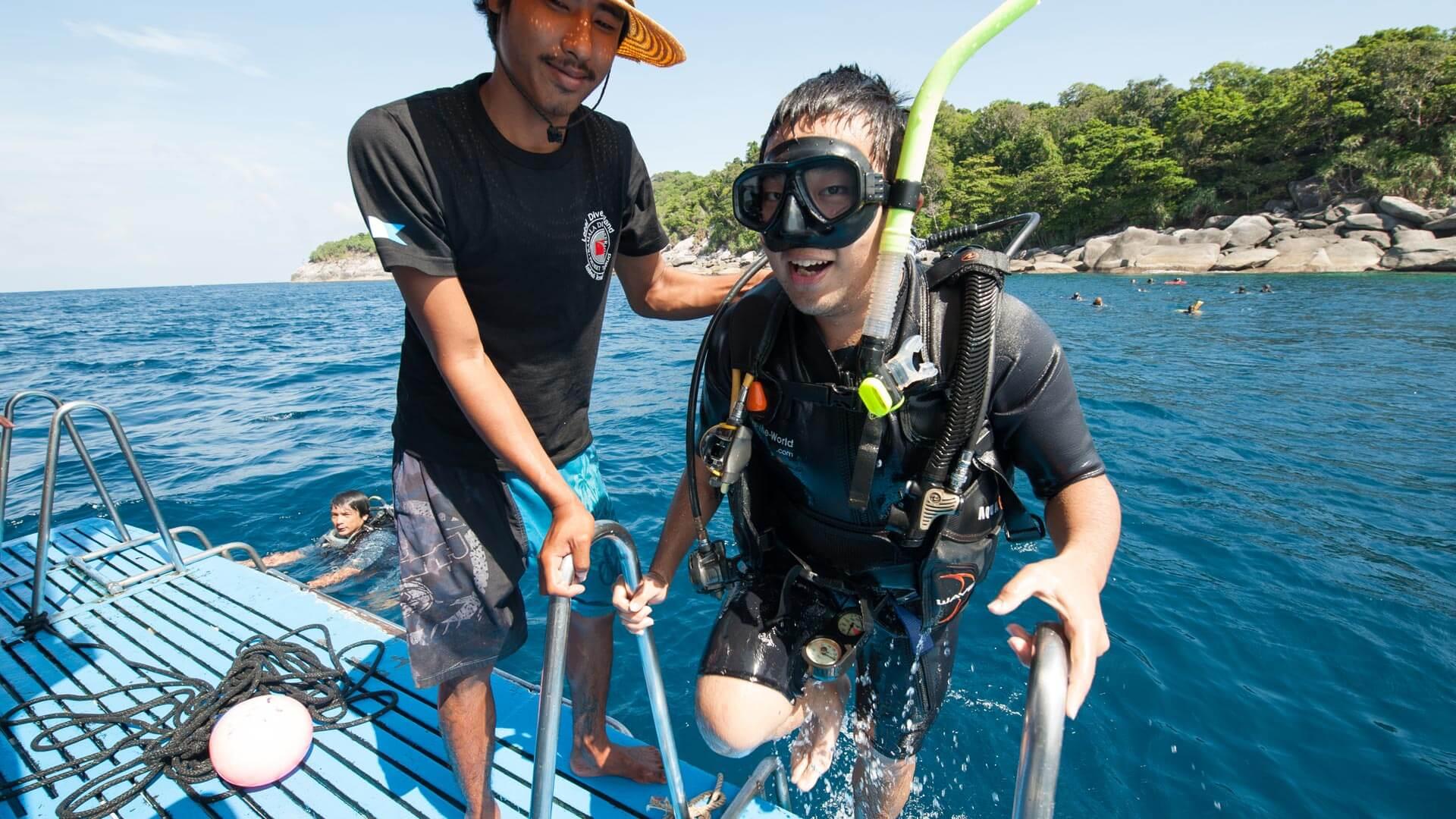 Dive Courses Phuket