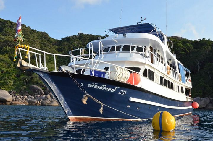 Andaman Tritan Similan Islands liveaboard