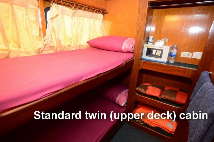 Andaman Tritan Standard twin cabin