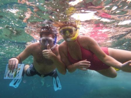 Snorkeling with Oktavia Similan Islands liveaboard