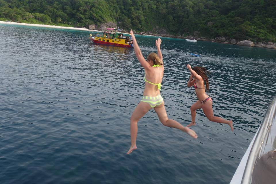 MV Andaman cheap Similan Islands liveaboard